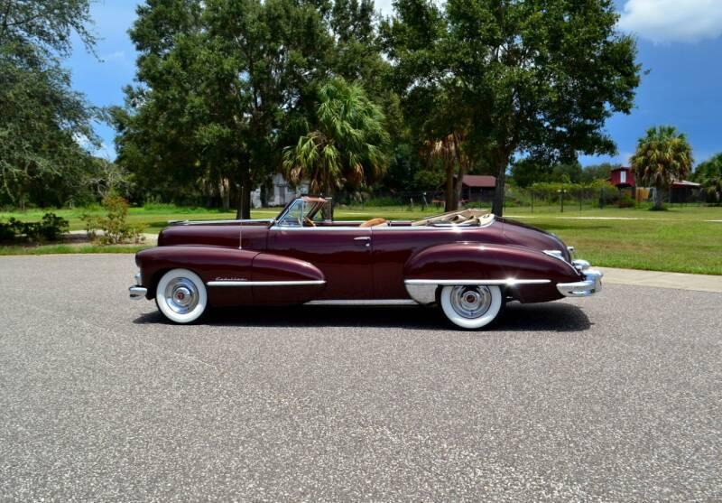 Cadillac 62 1947 prix tout compris 1947