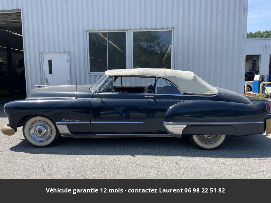 Cadillac 62 Cabriolet a restaurer 1948 prix tout compris
