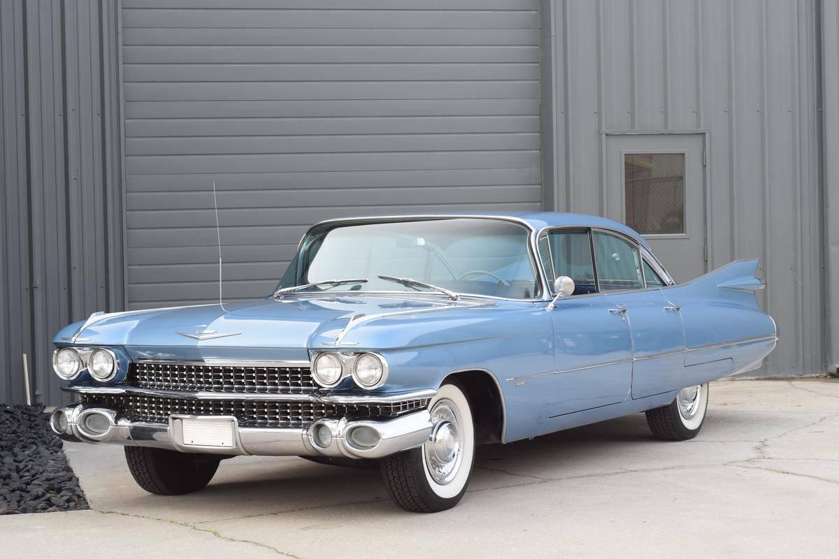 Cadillac 62 Hardtop v8 390 1959 prix tout compris 1959