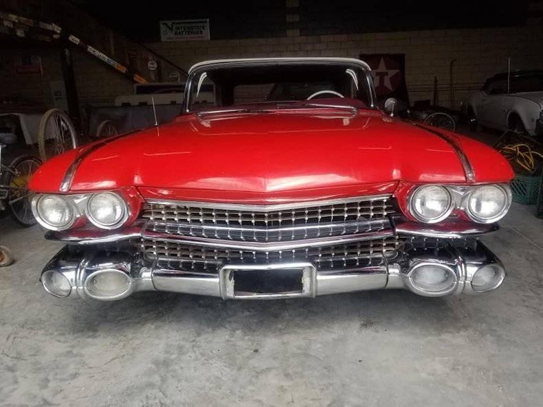 Cadillac 62 390 v8 cabriolet 1959 prix tout compris