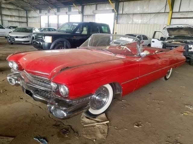 Cadillac 62 390 v8 cabriolet 1959 prix tout compris 1959
