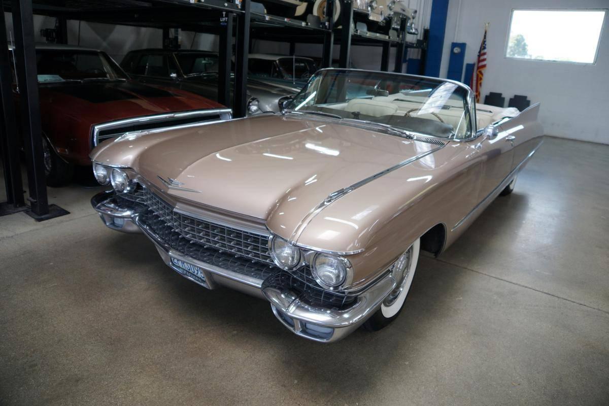 Cadillac 62 v8 de 6 390 cc (390 ci) 1960 prix tout compris 1960