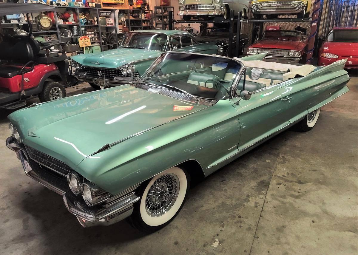 Cadillac 62 390ci 4bbl v8 1961  prix tout compris 1961