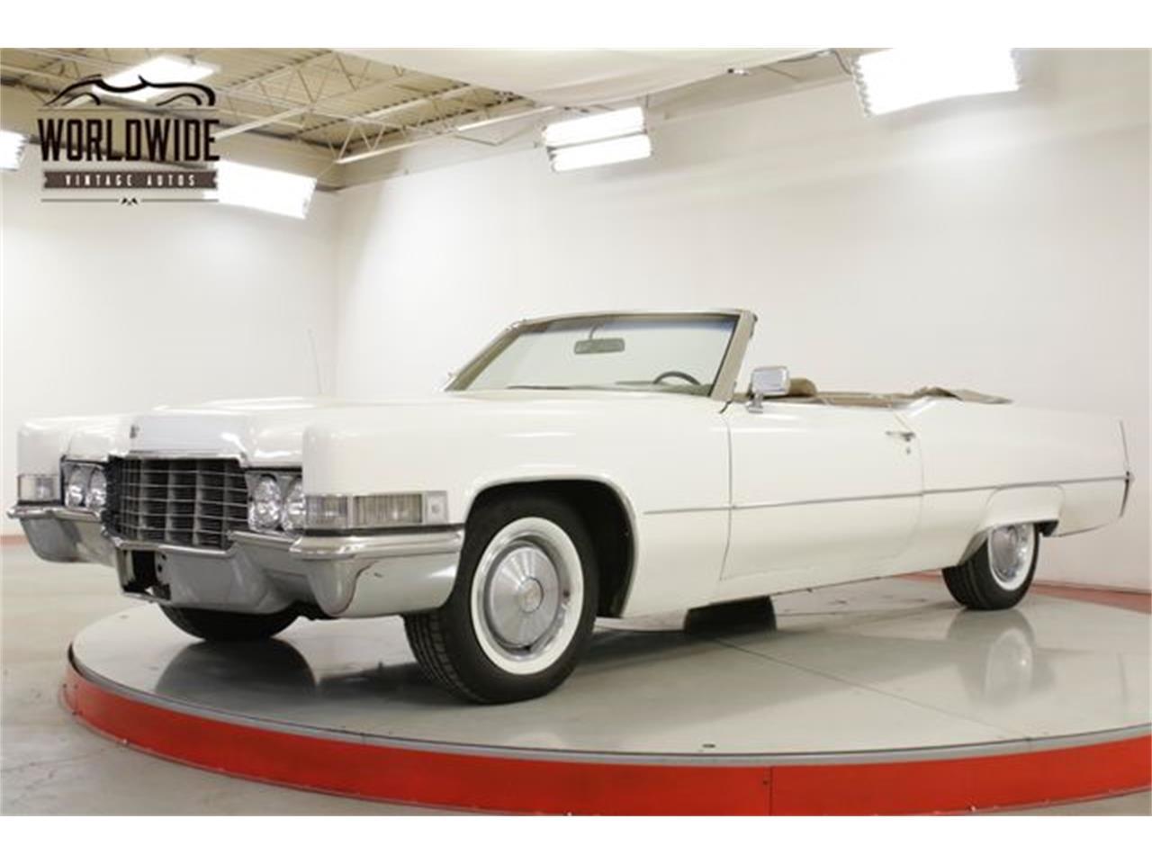 Cadillac DeVille 1969 prix tout compris 1969