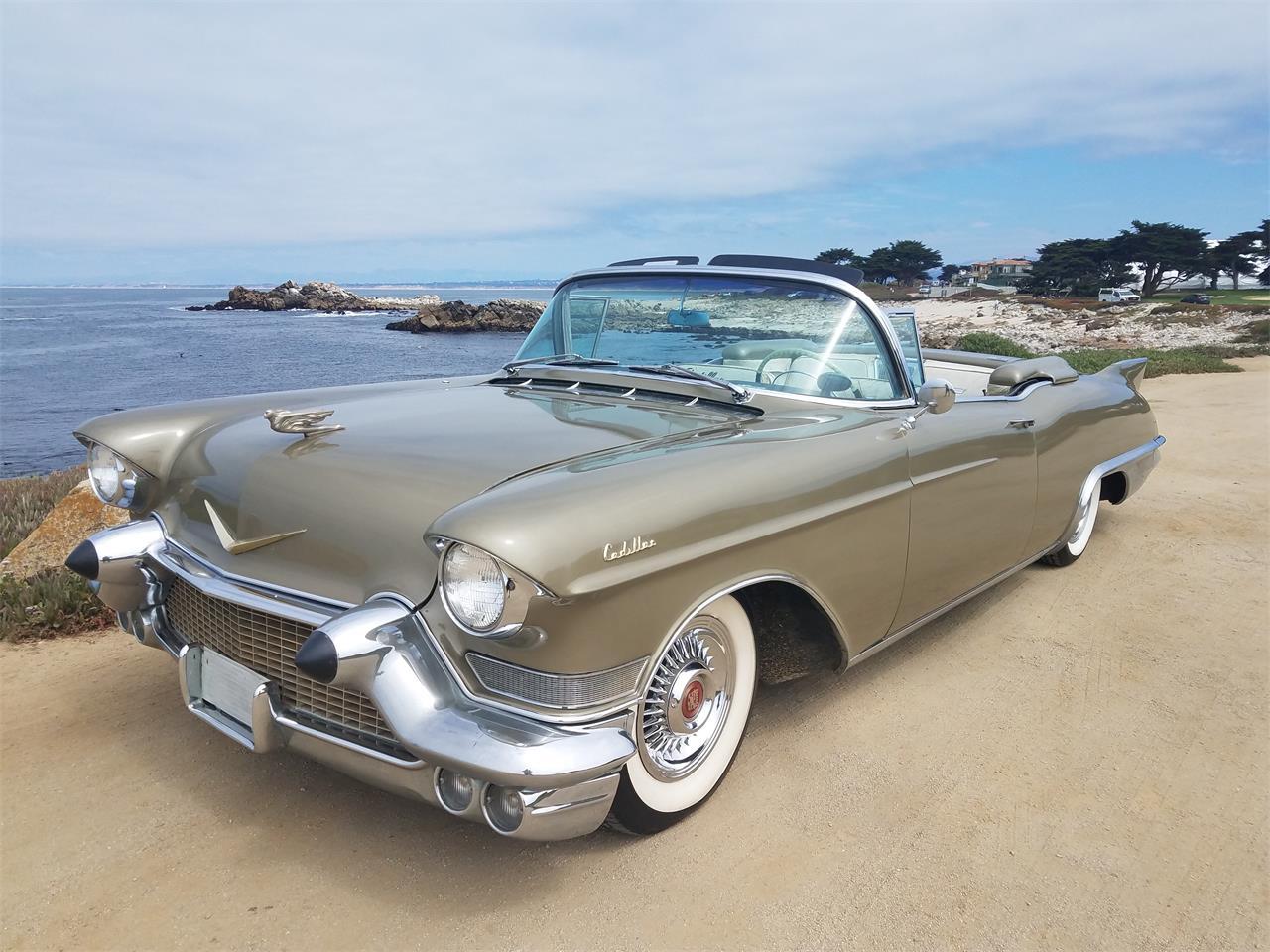 Cadillac Eldorado  Biarritz1957 prix tout compris 1957