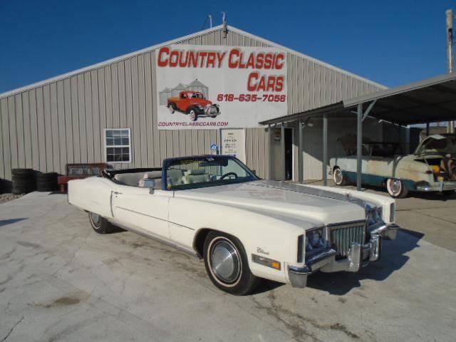 Cadillac Eldorado 1972 v8 prix tout compris 1972