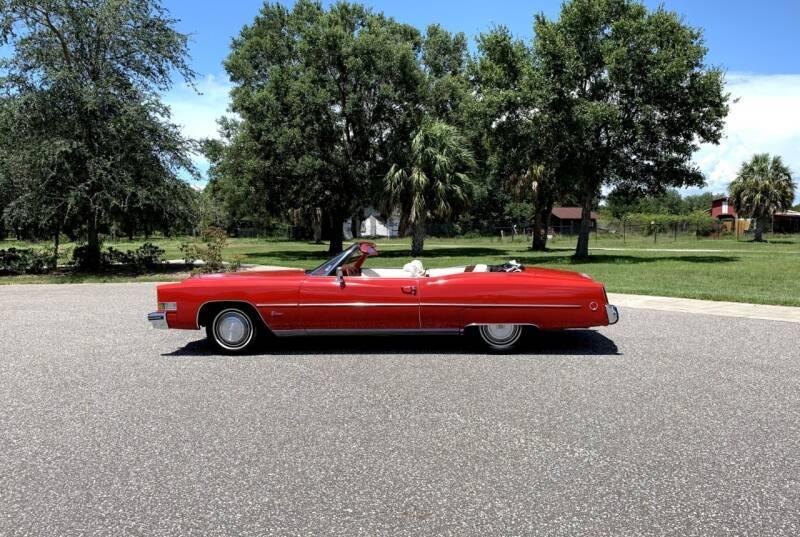 Cadillac Eldorado 1973 prix tout compris 1973