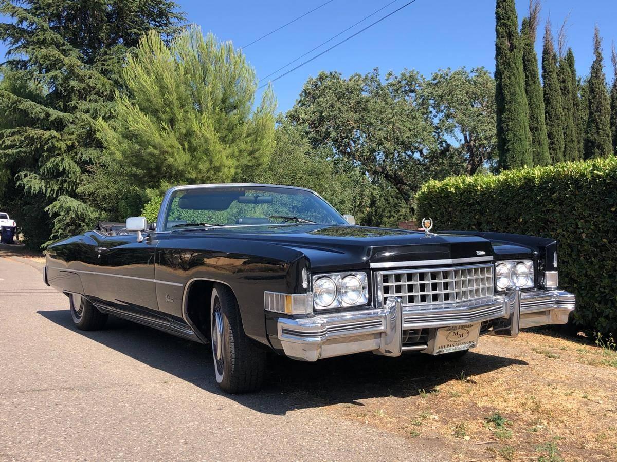 Cadillac Eldorado 500 ci v8,8.2l 1973 prix tout compris 1973