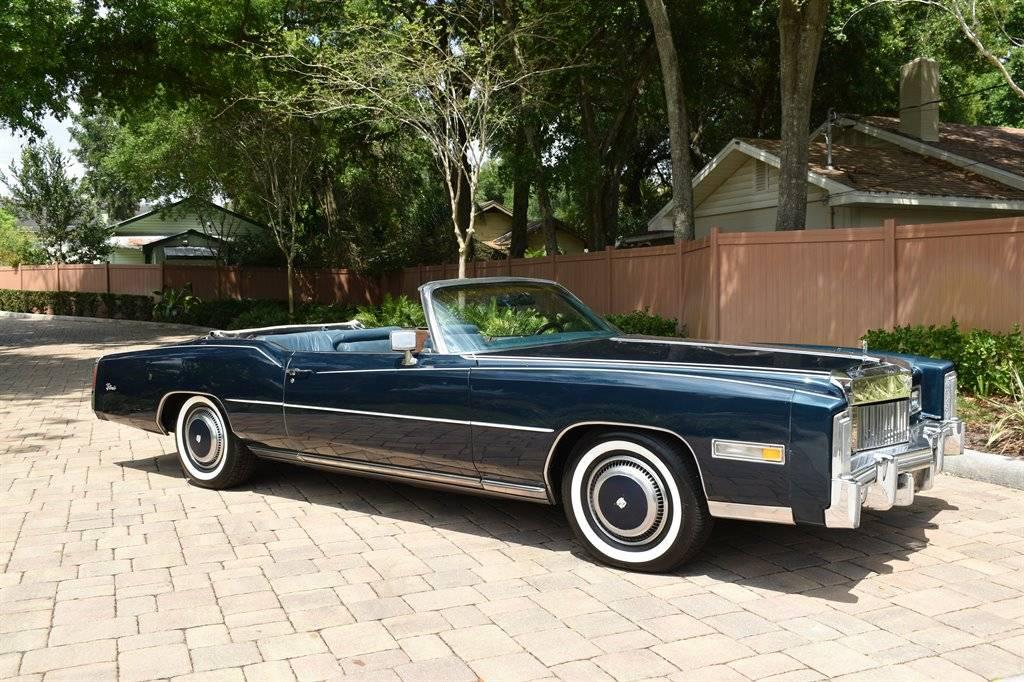 Cadillac Eldorado V8 500 1975 prix tout compris 1975