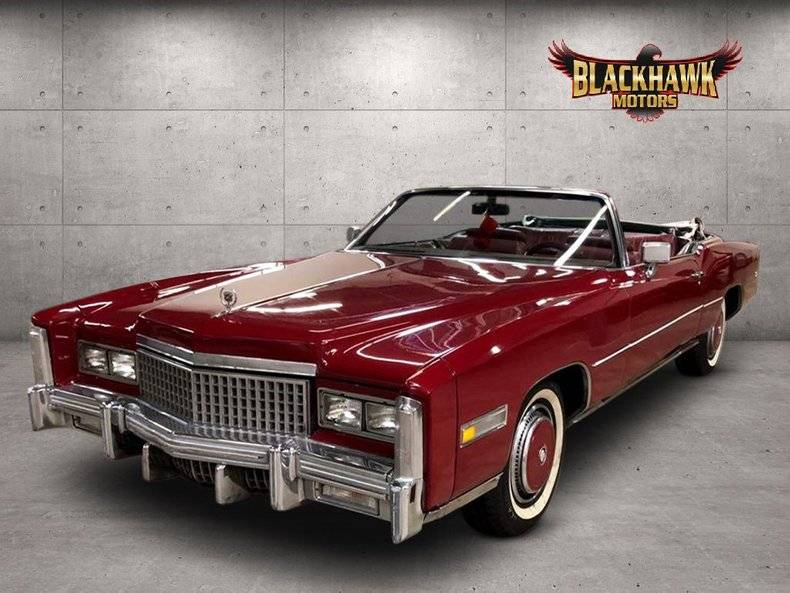 Cadillac Eldorado 500ci v8 8.2l 1975 prix tout compris 1975