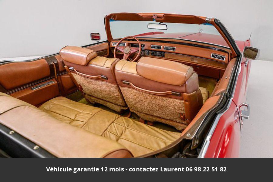 Cadillac Eldorado V8 1975 prix tout compris