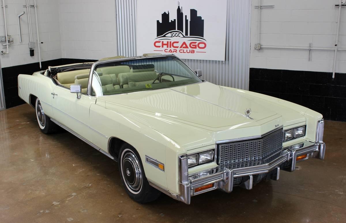 Cadillac Eldorado 500ci v8 1976 prix tout compris 1976