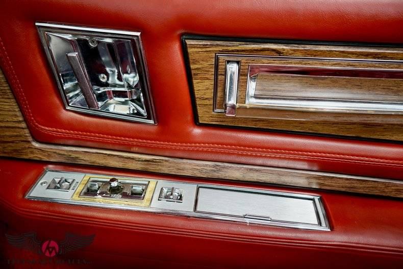 Cadillac Eldorado Biarritz cabriolet 1984 prix tout compris