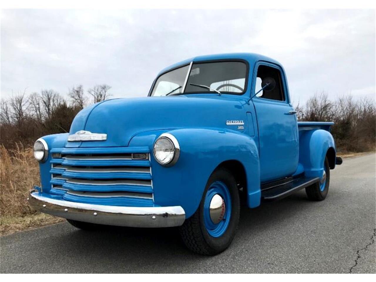 Chevrolet 3100 Pick up mythique de 1949 prix tout compris 1949