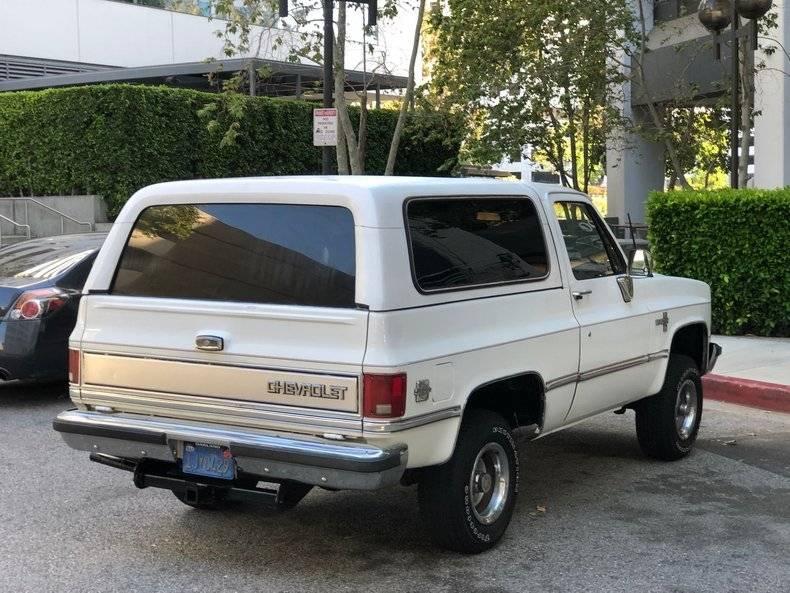 Chevrolet Blazer K5 4x4 5,7 l 350 v8 1984 prix tout compris