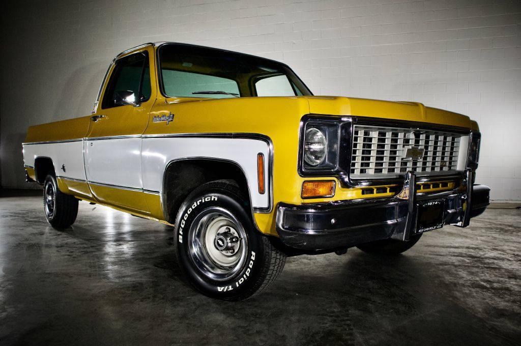 Chevrolet C10 Turbo 350 1974 prix tout compris 1974
