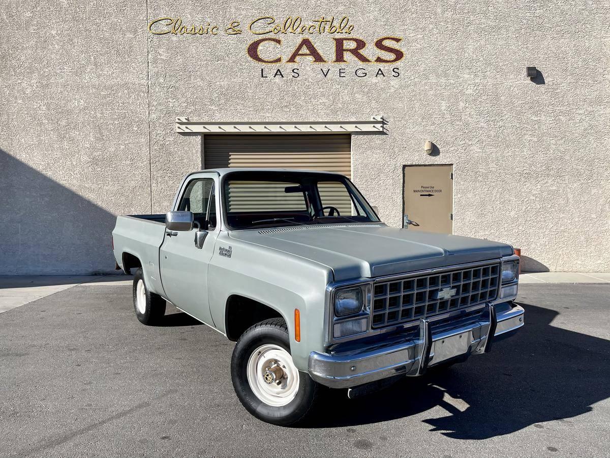 Chevrolet C10 V8 350 44 1980 prix tout compris 1980