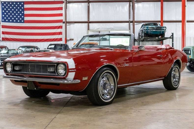 Chevrolet Camaro V8 1968 matador red prix tout compris 1968