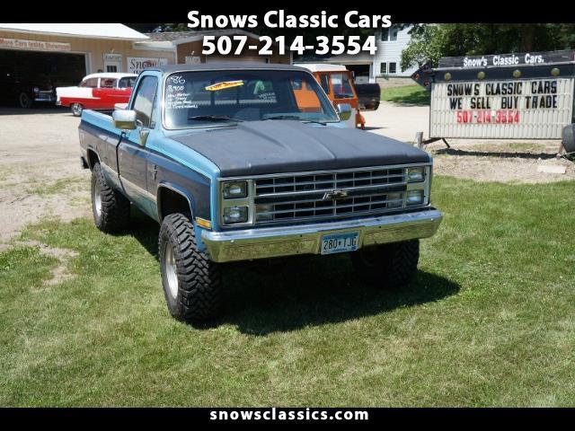 Chevrolet C/K 10 Regular cab 4wd 1986