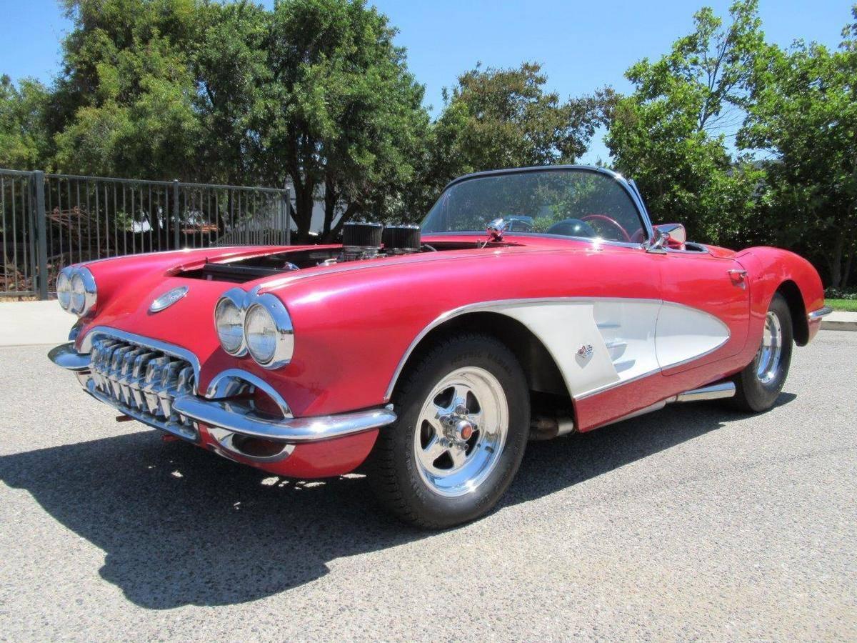 Chevrolet Corvette C1 1959 prix tout compris