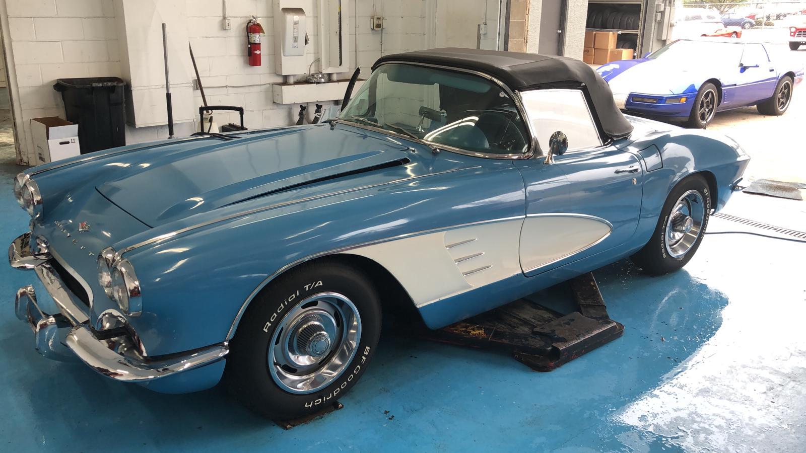 Chevrolet Corvette V8 prix tout compris 1961