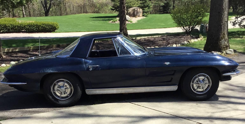 Chevrolet Corvette C2 v8 327 1963 prix tout compris 1963