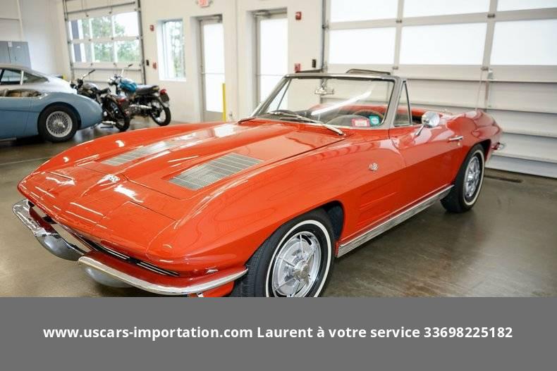Chevrolet Corvette V8 327 bvm4 1963 prix tout compris 1963