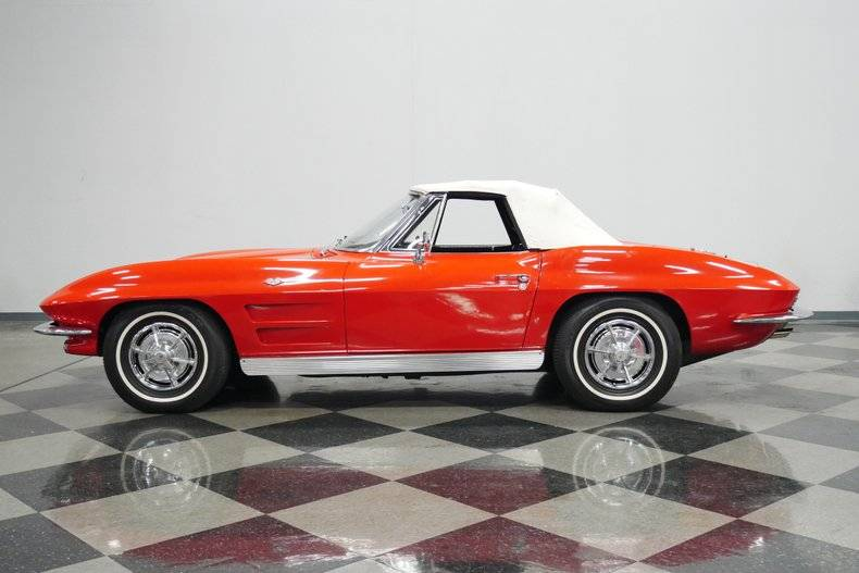 Chevrolet Corvette 327 v8 1963 prix tout compris 1963