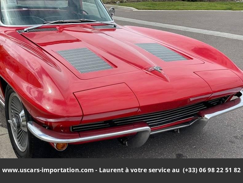Chevrolet Corvette 430 hp 3250 ci 1963 prix tout compris