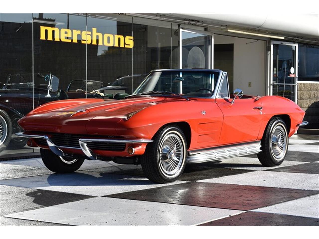 Chevrolet Corvette 1964 prix tout compris 1964