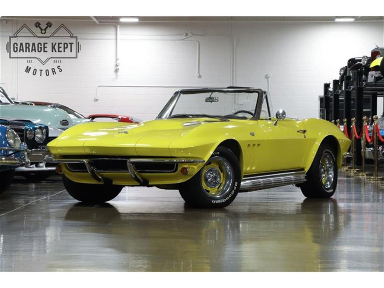 Chevrolet Corvette Stig ray v8 1965 prix tout compris 1965