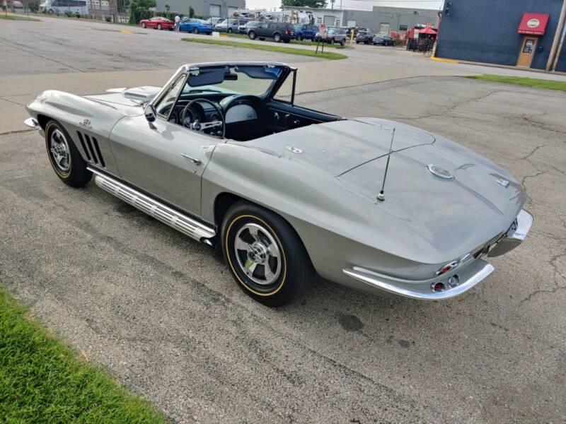 Chevrolet Corvette 427 big block v8 1966 prix tout compris