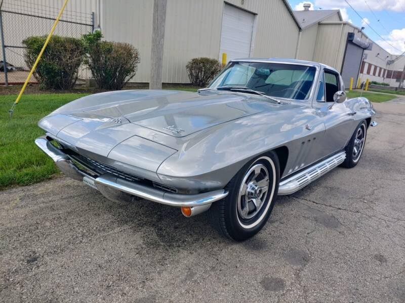 Chevrolet Corvette C2 327 v8 1966 prix tout compris 1966