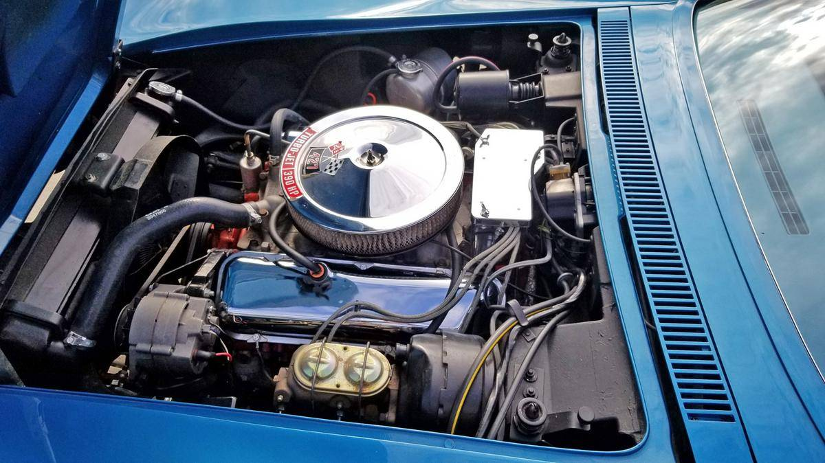 Chevrolet Corvette V8 427 stingray1968 prix tout compris