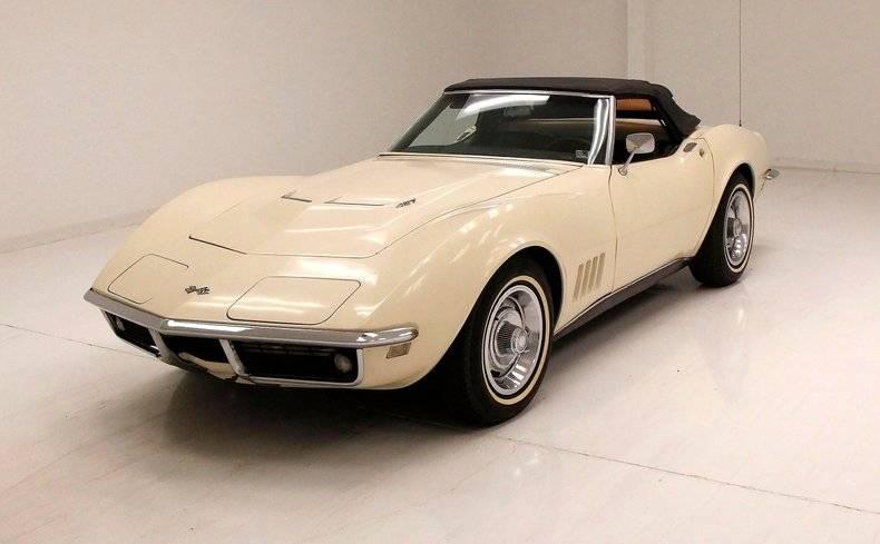 Chevrolet Corvette 427 v8 1968 prix tout compris 1968
