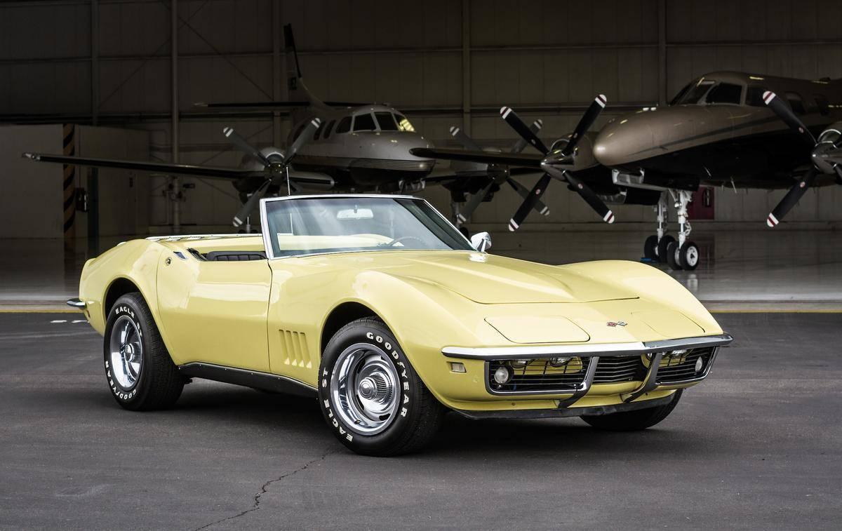 Chevrolet Corvette 1968 prix tout compris 1968