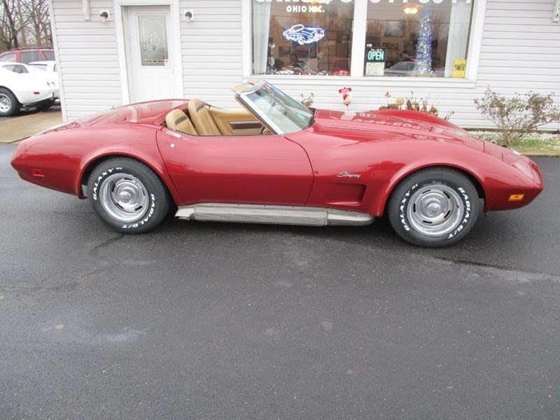 Chevrolet Corvette Side pipe v8 cabriolet 1974 prix tout compris 1974