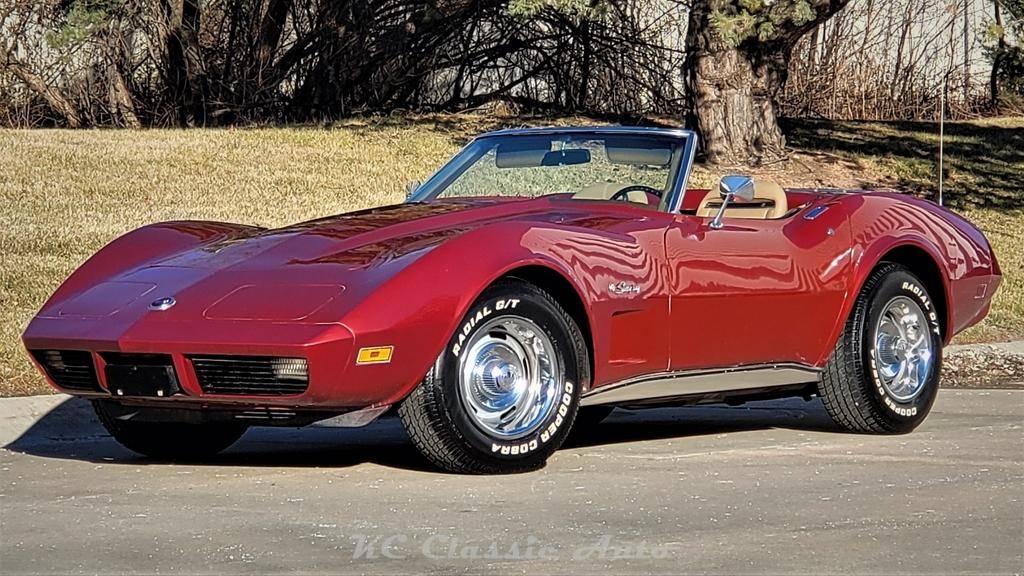 Chevrolet Corvette L48 350 v81974 prix tout compris 1974