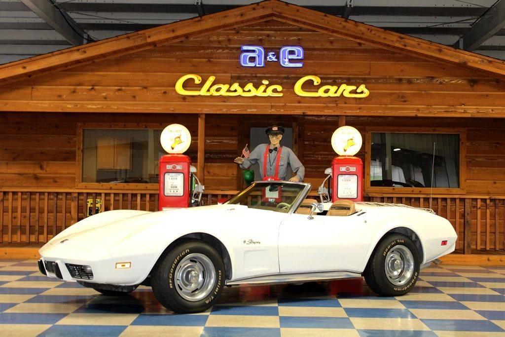 Chevrolet Corvette L82 350 v8 1975 prix tout compris 1975