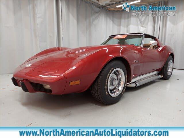 chevrolet corvette 1975 v8 prix tout compris 1975