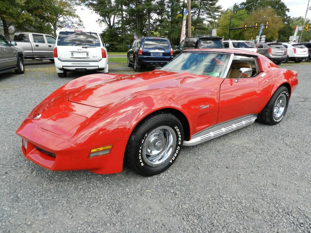 chevrolet corvette V8 1975 prix tout compris 1975