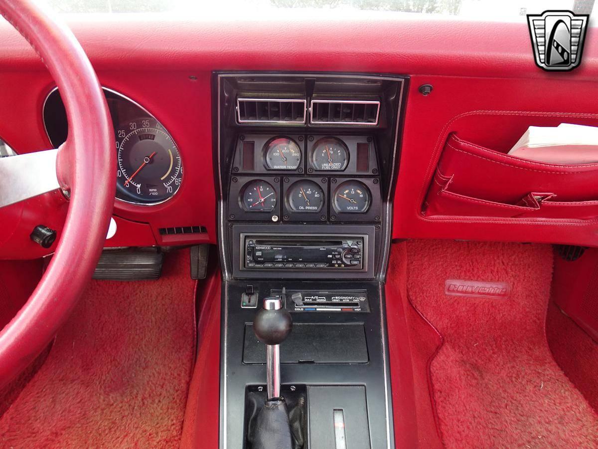 Chevrolet Corvette L48 350 v8 1977 prix tout compris