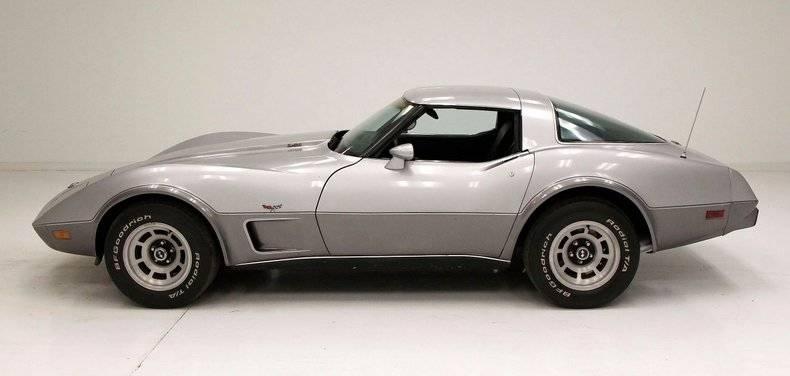 Chevrolet Corvette 45eme aniversaire 1978 prix tout compris