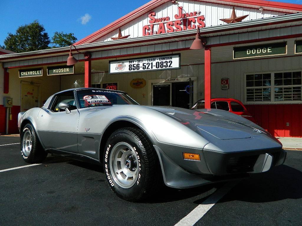 Chevrolet Corvette 25e anniversaire v8 1978 prix tout compris 1978