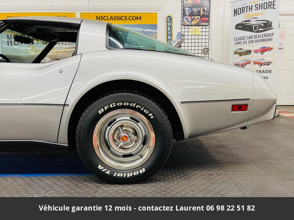 chevrolet corvette Tip top v8 1979 prix tout compris