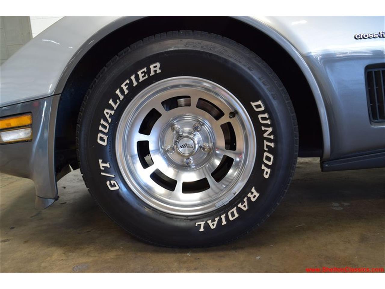 Chevrolet Corvette C3 silver 1982 prix tout compris