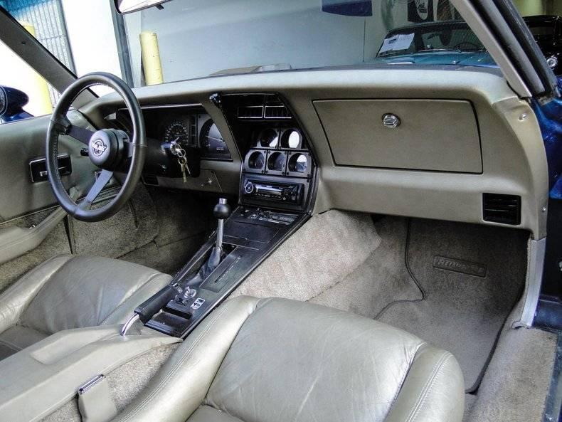 Chevrolet Corvette V8 5.7l 1982 prix tout compris