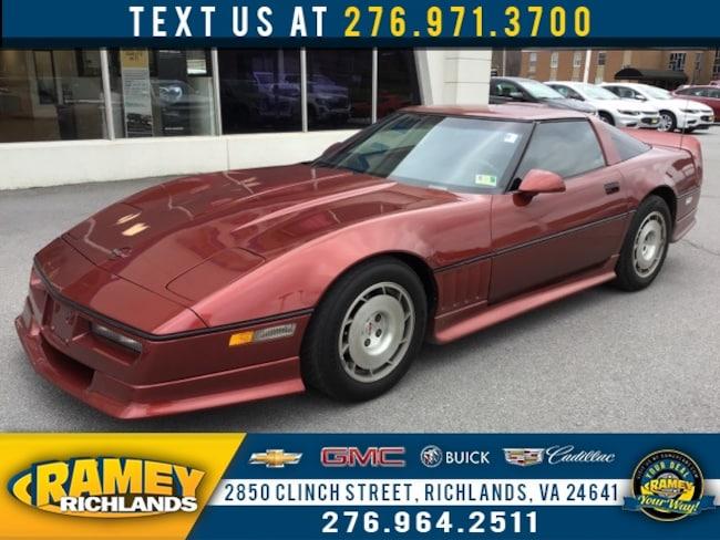 Chevrolet Corvette Coupe 1986