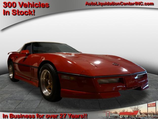 Chevrolet Corvette Cabriolets 1986