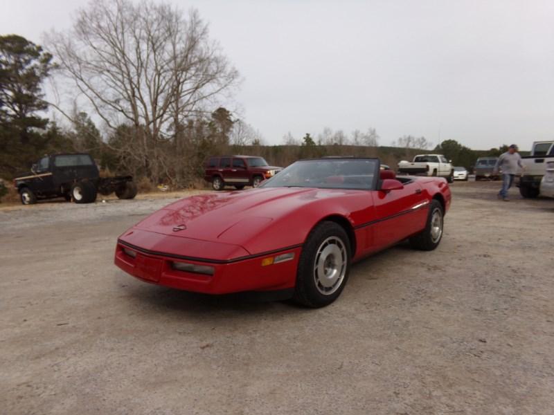 Chevrolet Corvette Cabriolets 1987